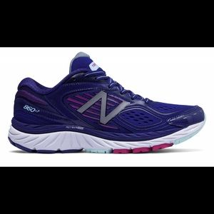 New Balance W860BP7 basin poisonberry sneakers